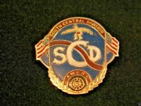 South Central Division American Women Lawn Bowling Association Pinback Pin SCD