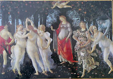 Botticelli Allegory Spring Primavera Jigsaw Puzzle 1000 Pc Clementoni 26x18