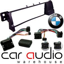 BMW 3 Series E46 Alpine Car Stereo Fascia & Steering Wheel Interface Kit CTKBM07