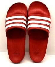 801783322764 Adidas Duramo Slide True Red   White US Size 13 - FREE SHIPPING - BRAND NEW