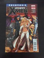 Uncanny X-Men #1 2012 Marvel 1:15 Dale Keown Blue Regenesis Variant Emma Frost