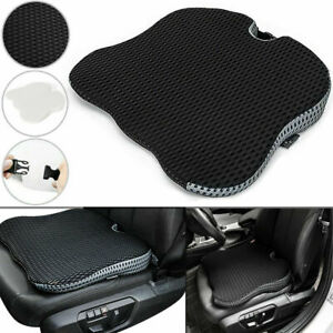 Universal Car Front Seat Cushion Memory Foam Soft Wedge Office Chair Pad Mat Kit