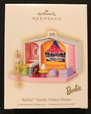Hallmark Ornament: BARBIE FAMILY DELUXE HOUSE - Dated 2007