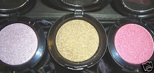 3 X LARGE   Shimmery Eye Shadows PINK* MAUVE* SAGE