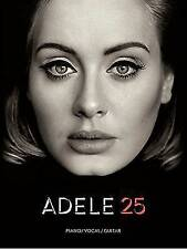 Adele: 25 Piano Vocal Guitar
