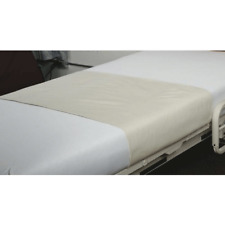 Unbleached Draw Sheet for Single Beds, Incontinence Aid Bedding Protection