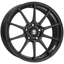 CERCHI IN LEGA SPARCO ASSETTO GARA 6.5X15 4X100 ET30 FIAT PUNTO MATT BLACK 7F3