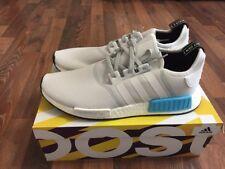 adidas Originals Men's Shoes NMD_R1 - S31511 Gray/White/Blue Color