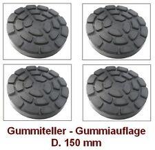 Gummiteller für Hebebühne D. 150 mm - Gummiauflagen - Auflageteller RAVAGLIOLI @