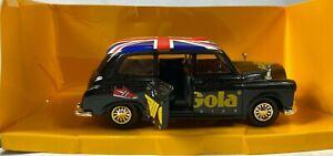 Gola Taxi Metal Car Model Vehicles Collectors Miniature 100 year Anniversary