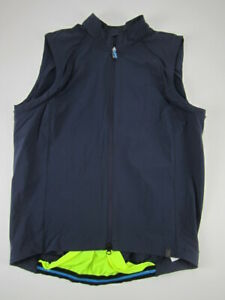 Mens Large Specialized Deflect Hybrid cycling softshell convertible vest jacket