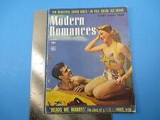 Modern Romances August 1944 10 Beautiful  Cover Girls Take-A-Chance Bride M1219