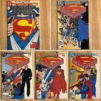 Superman Man of Steel 1, 3-6 (DC) 1986 Mini-Series
