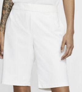 Nike Flex UV Golf Shorts White Size XXL DRIFIT TPC Women's BV0168-100 $75