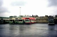 PHOTO  2008 HUDDERSFIELD BUS STATION MOST OF THE BUSES WERE THEN IN THE VERONA G