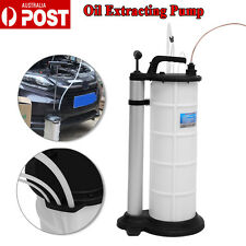 9L Oil Water Suction Extraction Pump Fluid Vacuum Transfer Hand Tool AU STOCK