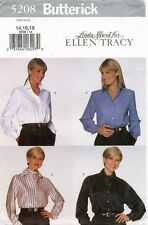 Butterick Misses' Shirt Pattern 5208 Size 14-18 UNCUT