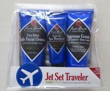 Jack Black Pure Science Jet Set Traveler Flight Size Cleanser Moisturizer Shave