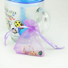 50X Fashion Wholesale Bulk Lots Organza Voile Jewelry Gift Favor Candy Bag Pouch