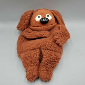 Rowlf Full Body Hand Puppet Muppets Fisher Price 852 Vintage
