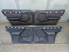 Mercedes Benz W124 Sportline Limousine Türverkleidung Türpappen Leder Schwarz