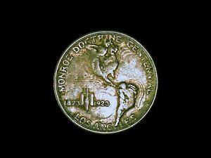 1923 MONROE DOCTRINE CENTENNIAL COMMEMORATIVE HALF DOLLAR  #EB10362