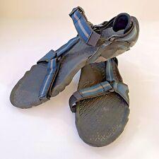 Teva Volterra Men's Size 14 Water Sports Comfort Black And Blue Sandals 6974
