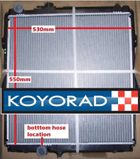 Radiator Hilux LN147 LN167 LN172 with 550mm core Height 97-04 3Ltr Diesel Koyo
