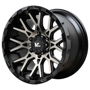 "Verde VR10 Recoil 18x9.5 6x135 +15mm Black/Tint Wheel Rim 18"" Inch"