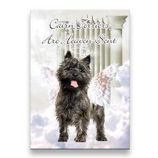 Cairn Terrier Heaven Sent Fridge Magnet No 1