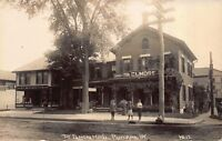 Real Photo Postcard The Elmore Hotel in Rutland, Vermont~117023