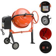 5cuft-4/5Hp Mixing mortar Portable Electric Concrete Cement Mixer barrow Machine