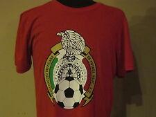 Adidas Mexico National Soccer Team Federacion Mexicana De Futbol T-Shirt XL Red