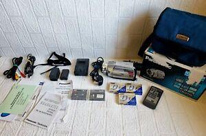 Panasonic NV-DS29B Mini DV Camcorder. IR NightVision.VGC. Big Bundle - Boxed