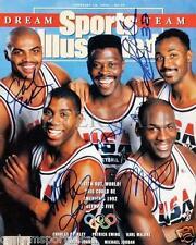 REPRINT - DREAM TEAM Michael Jordan - Barkley - Magic Glossy 8 x 10 Photo 1992