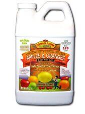 Urban Farm Fertilizers, 1/2 gallon Apples & Oranges-Fruit & Citrus fertilizer.