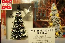 HO Busch 5409 CHRISTMAS TREE with WORKING LIGHTS