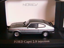 FORD CAPRI MKIII 2.8 SUPER INJECTION 1984 ARTIC BLUE NOREV 270561 1/43 BLAU BLEU