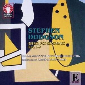 Stephen Dodgson ESSAYS FOR ORCHESTRA