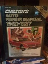 Chilton Auto Repair US & Canada 1980-1987 #7670