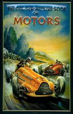The Golden Picture Book of Motor Tin Sign 3D Embossed Tin Sign 7 7/8x11 13/16in