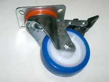 Ruota girevole Ø 100mm con Freno, Professionale Made in Italy, corpo in acciaio