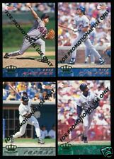 2 Mint 1994 Pacific Trading Cards Baseball Promo Sets