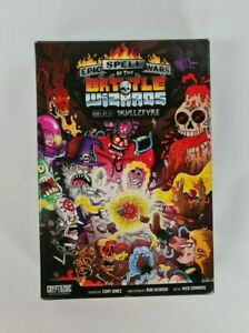 Cryptozoic Epic Spell Wars of the Battle Wizards Duel at Mt Skullzfyre Card Game