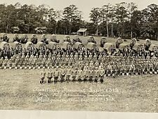 WWI 1918 US Army Auxiliary Remount Depot #312 Large Unit Panoramic Photo