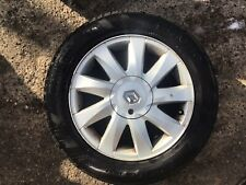 RENAULT MEGANE ALLOY WHEEL 16'' AND TYRE 205X55X16  2003-2009