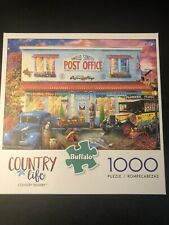 Country Life 1000 Piece Puzzle By Buffalo Country Delivery Post Office  **NEW**