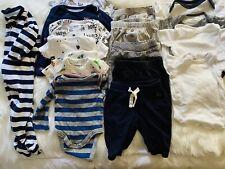 Newborn NB EUC baby boy clothes lot!! 16 Pcs