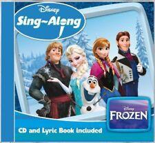 Disney Canciones Along Frozen (2014) CD Álbum + Letra Libro Nuevo Let It Go