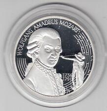 ECU  Österreich  25 ECU  Mozart   1996  Silber